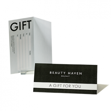 Gift Voucher printing for Salons  - Online Printing Services