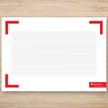A2 Deskpad Printing - Online Printing UK