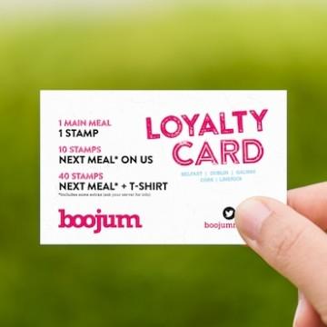 Loyalty card printing ireland
