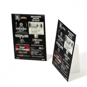 A4 & A5 Strut card printing online