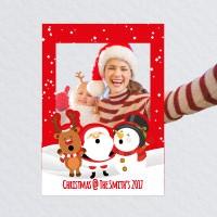 Bespoke Christmas Selfie Frame