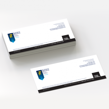with compliment slips - Compliment Slip Printing by Kaizen Print
