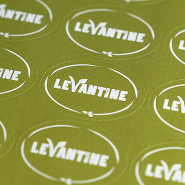 Oval Stickers Printed on A4 Sheets - Digital Printing Online