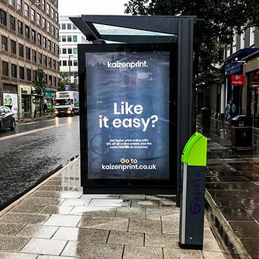 Backlit Lightbox Poster kaizen print Ireland