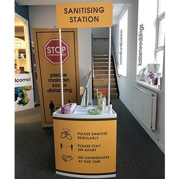 Sanitising Station - Sanitisation Station