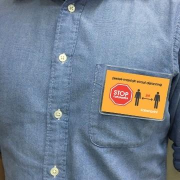 Social Distance Badge