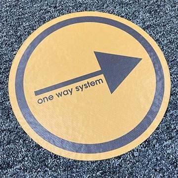 Carpet Vinyl - Office - Social Distancing