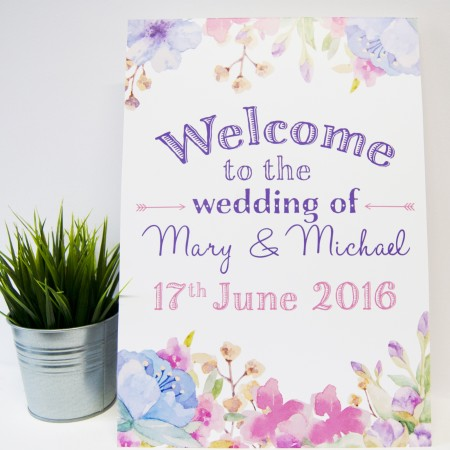 Wedding Venue Signage