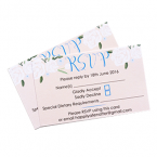 RSVP Card Print - A7