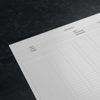 Analysis Pad Printing For Accountants - Online Printing Services