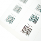 Rectangular Label printing Ireland