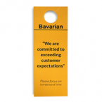Bavarian vehicle window hanger printing UK front