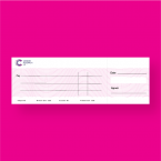 Cancer Research UK Jumbo Presentation Cheque - Mega Cheque Presentation Cheque Printing - Online Printing Services UK