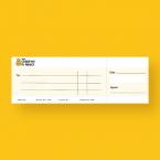 Children in Need Presentation Cheque - Jumbo Cheque - Presentation Cheque Printing - Online Printing Services UK