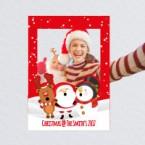 Christmas Selfie frame printing - Online Printing Services UK