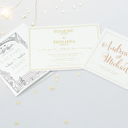 Wedding Foil Printing - Online Printing Services