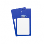 Ford vehicle window hanger printing