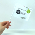 Hand Held Paper Flags - Online Printing Services