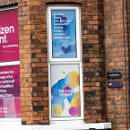 Contravision Window Printing - One Way Window Graphics