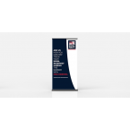 Roll up banner replacement printing