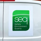 Magnetic signs for cars and vans