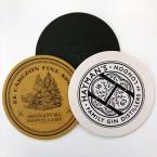Round Beer Mat Printing