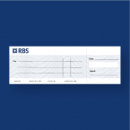 RBS Presentation Cheque Printing - Large Cheque - Presentation Cheque Printing - Online Printing Services UK