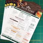 FSC Certified Disposable Menu Printing