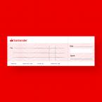 Santander Jumbo Presentation Cheque Printing - Large - Presentation Cheque Printing - Online Printing Services UK