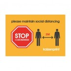 Social Distance Badge Set for Offices