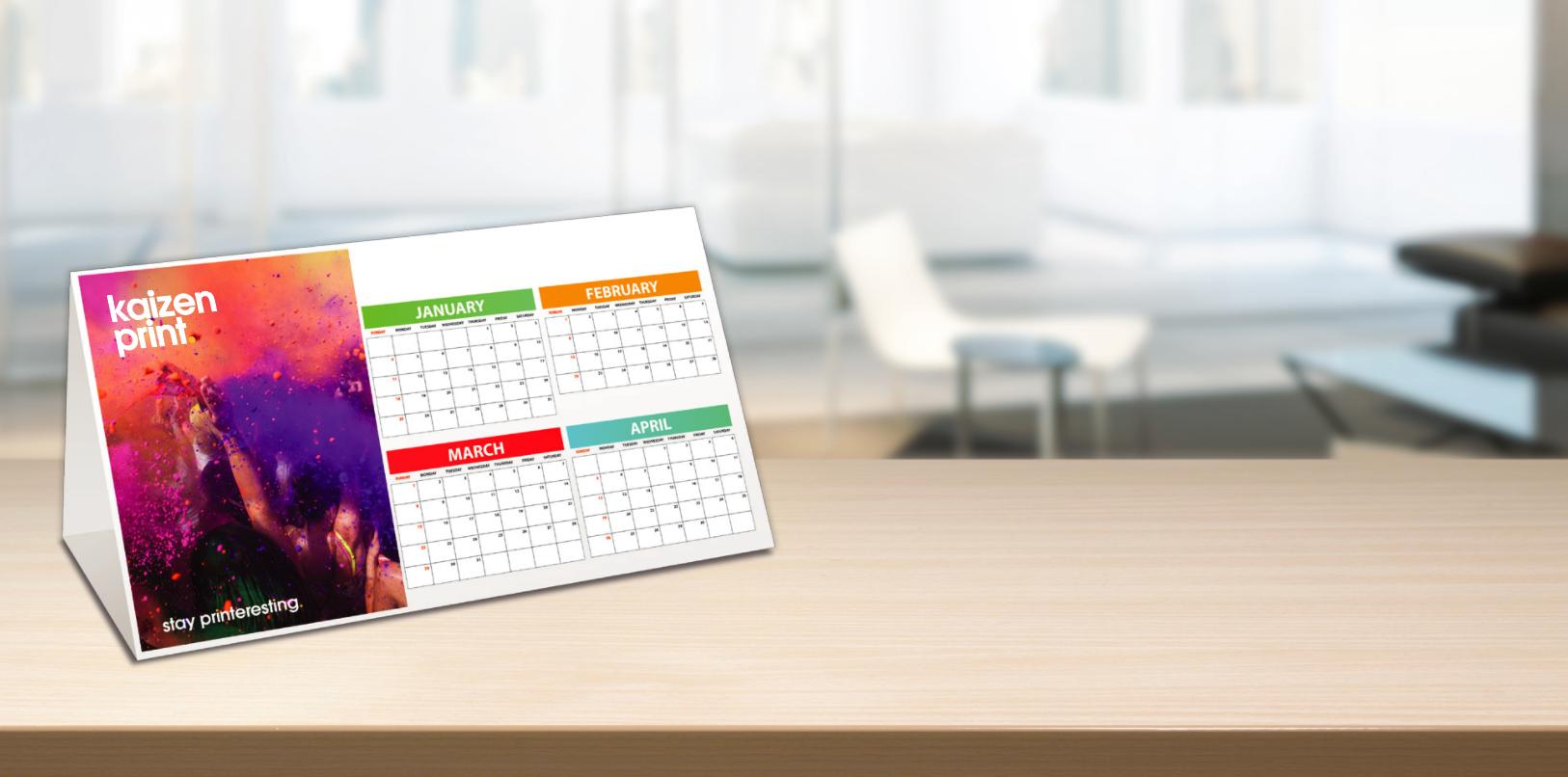 Diy Calendar Uk : Flat desk calendar with pictures hostgarcia