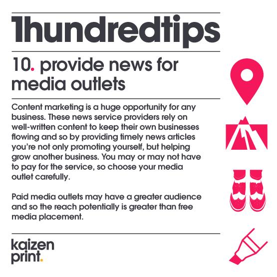 provide news for media outlets