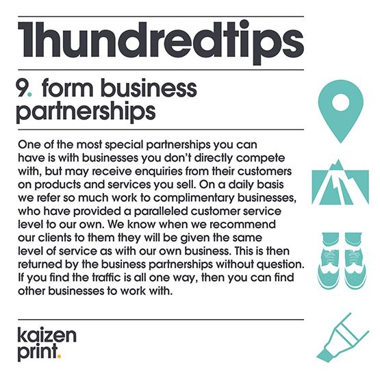 form business partnerships