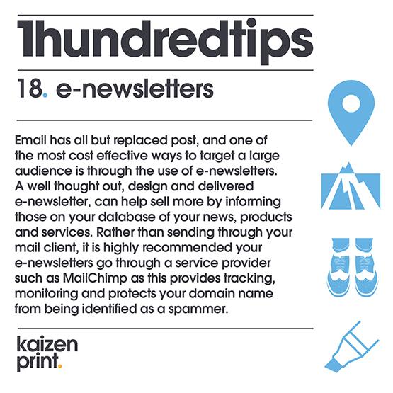 e-newsletters