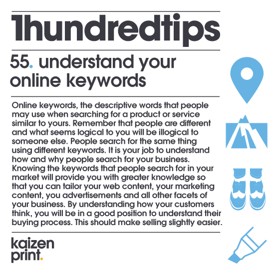understand your  online keywords
