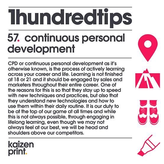 continuous personal development
