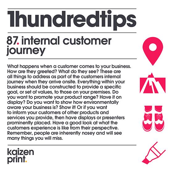 internal customer journey
