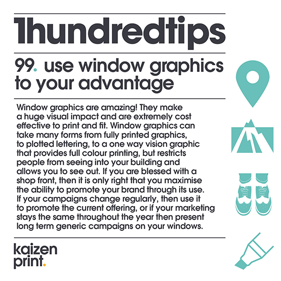99  use window graphics to your advantage