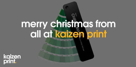 merry christmas from everyone at kaizen print