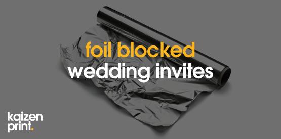 foil block printing
