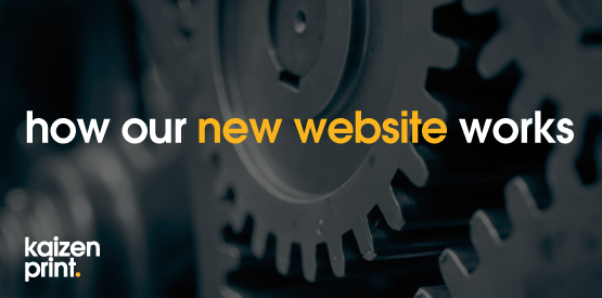 how our new website works