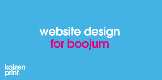 design of boojums new website