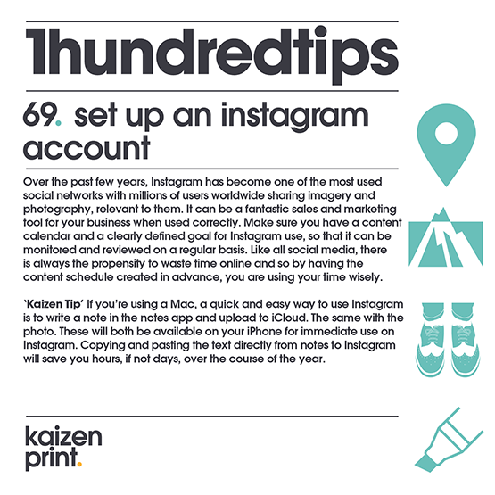 set up an instagram account