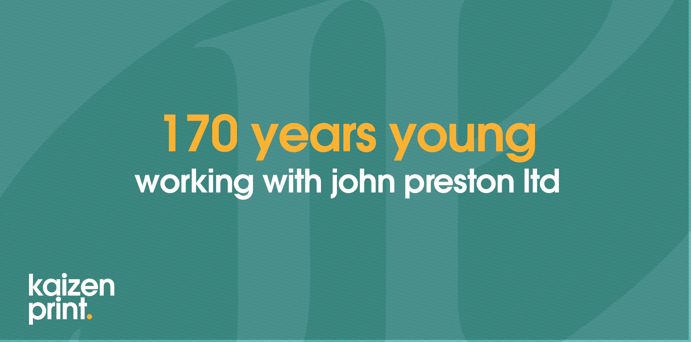 John Preston - 170 Years Old