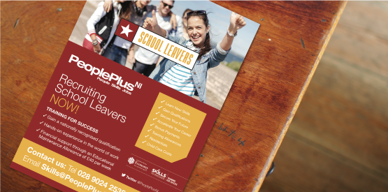 PeoplePlusNI flyer design