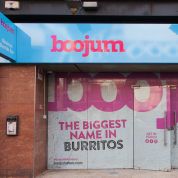 Boojum store graphic design