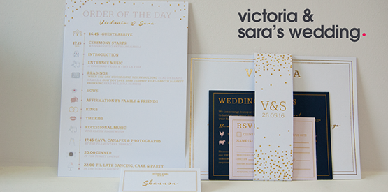 victoria and sara wedding