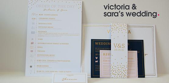 victoria and sara wedding