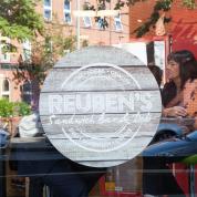 Reubens store graphic design