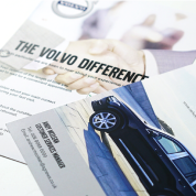 Volvo flyer design